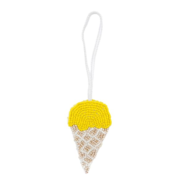 MADEBYWAVE Yellow Ice Cream Charm