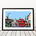 Stoke Newington Church Street London Art Print image