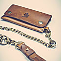 Tan Leather Wallet image