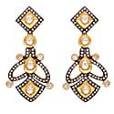 Heritage Gold & Crystal Earrings image