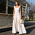 Long Poplin Dress image
