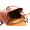 Mod 130 Backpack In Cuoio Brown image