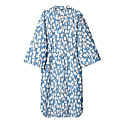 Yukata Shirt Sky Blue and White image