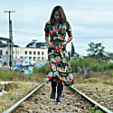 Tropical Maxi Shirtdress image