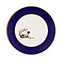 Trapeze Boy Cobalt Blue Dinner Plate image