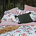 Rose Anna Organic Cotton Oxford Pillowcase Set image