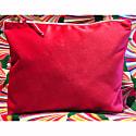 Luxury Pink Velvet Cosmetic Bag image