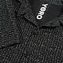 Black Transcript - Cotton Aloha Shirt image