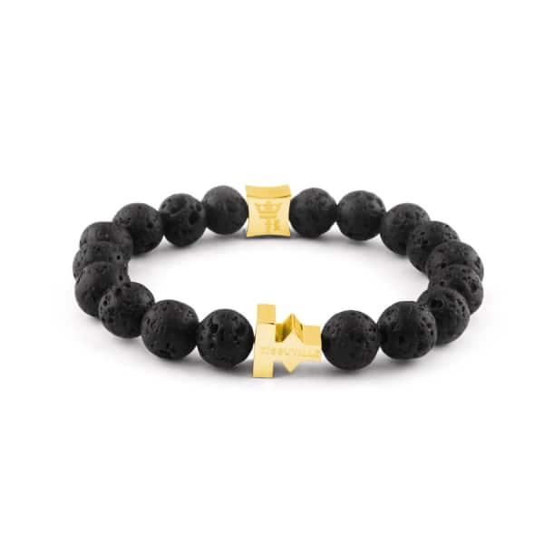 TISSUVILLE Pulse Lava Bracelet Gold Men