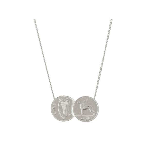 double irish coin necklace