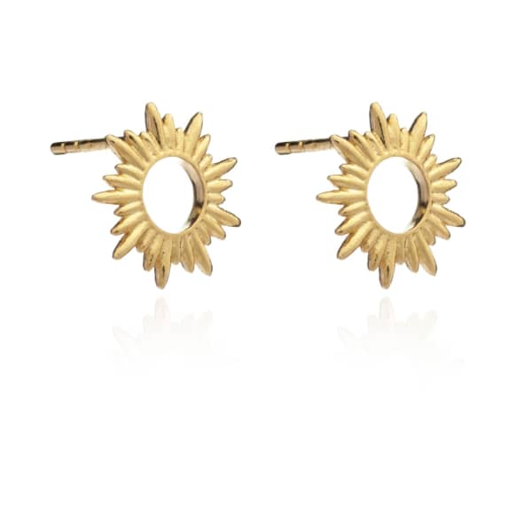 Sunrays Stud Earrings from Wolf & Badger