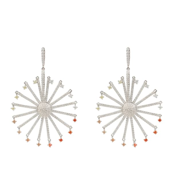 LATELITA LONDON The Ferris Wheel Earring Silver