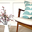 Kamelia Cushion Blue image
