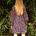 Bowsman Mini Dress Multicoloured Floral Print image