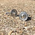 Silver Spiral Cufflinks image