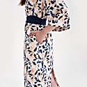 Mika Back Cutout Dress Peach Breeze image