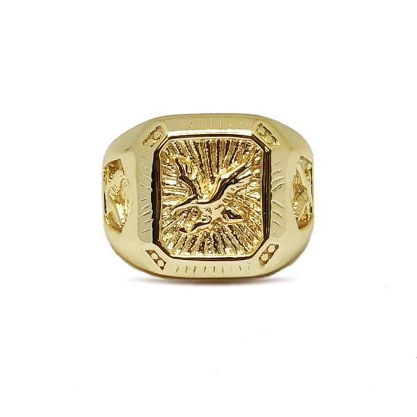 SERGE DENIMES Gold Eagle Ring