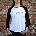 Rainbow Vegan Long Sleeve T-Shirt In White image