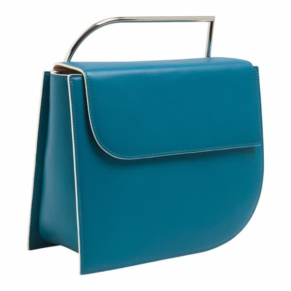LAUTĒM Euler Leather Bag Ocean