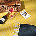 Pure New Wool Waterproof Picnic Blanket - Sunny Afternoons image