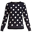 Emmy Long Sleeve Polka Dot Jumper image