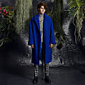 Cobalt Oversize Coat image
