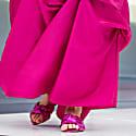 Sanibel Pink Metallic Flat Sandal image