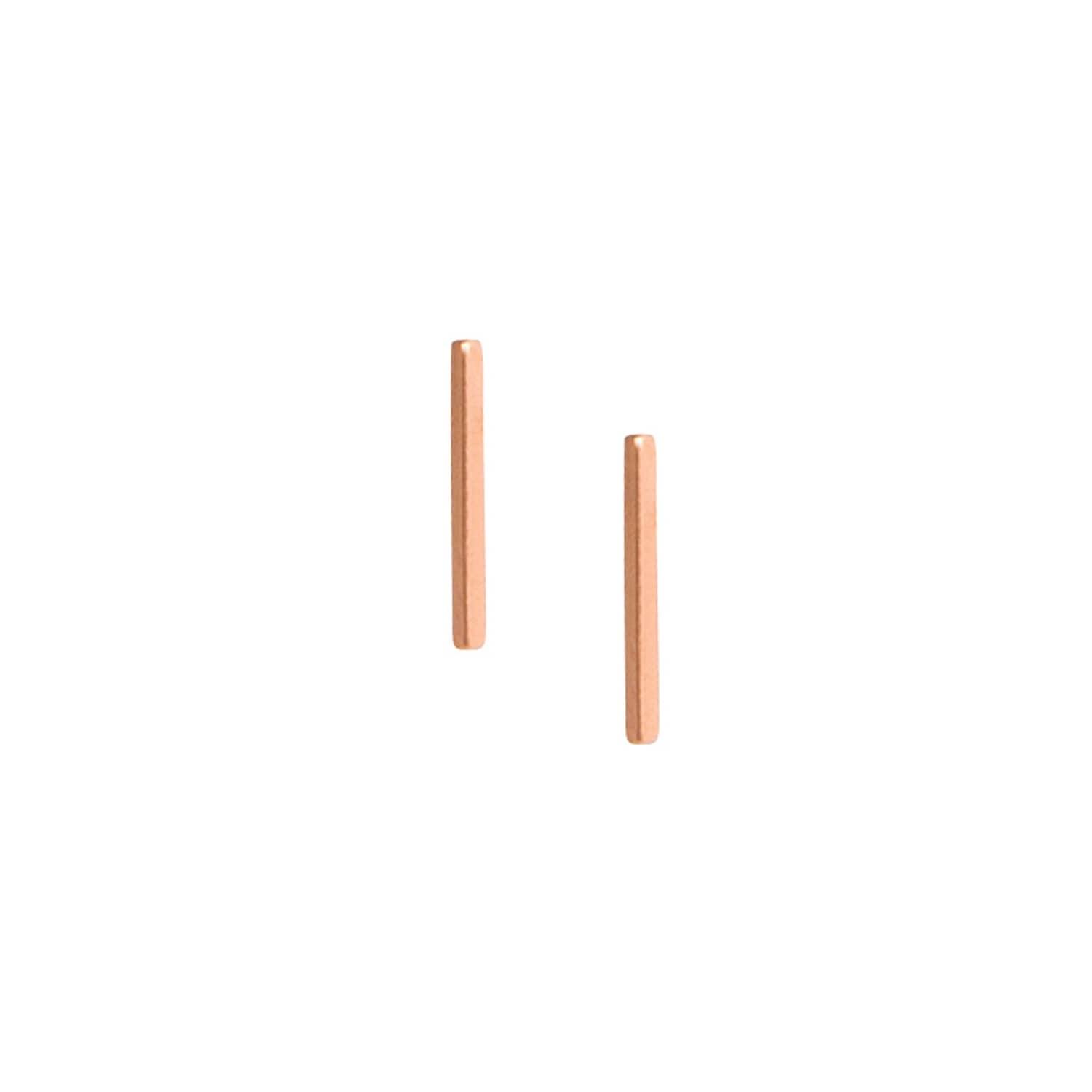 101eb4cdc Thin Wire Studs Rose   Matthew Calvin   Wolf & Badger