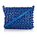 Belle Cross Body Leather Bag Cobalt Blue image