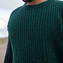 Uomo Alpaca Blend Sweater - Green image
