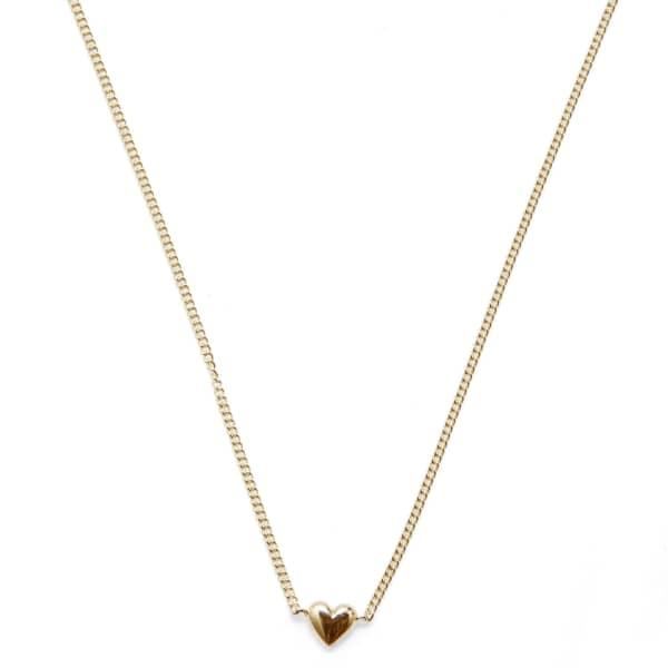 Mini Heart Gold Necklace