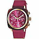 Briston Clubmaster Classic Chronograph Tortoise Shell Acetate Berry image