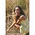 Valaree Midi Slip Dress Yellow image