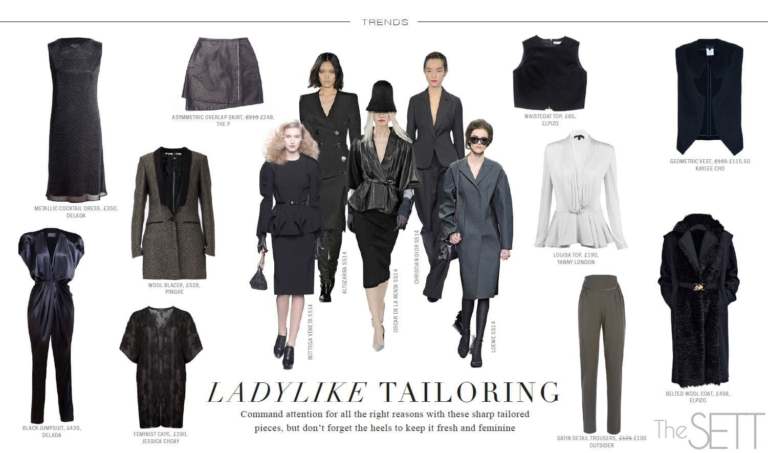 trends - womens tailoring