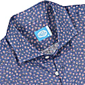 Exuma Linen Floral Shirt in Blue image