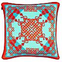 Arcadia Large Silk Cushion image