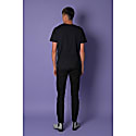 Bee Embroidered T-Shirt Black Men image