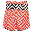 Lottie Geometric Print Shorts image