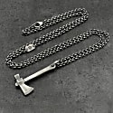 Tomahawk Pendant in Sterling Silver image