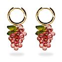 Raspberry Jelly Earrings image