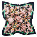 Large Burmese Toucan Blush Silk Scarf image