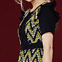 Melissa Dress With Contrasting Lace image