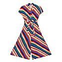 Budapest Stripes Print Kimono Jumpsuit image