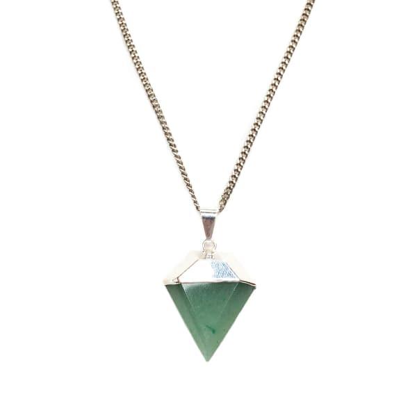 TIANA JEWEL Saffire Mini Green Diamond Pendant