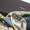 Metal Mandala Neckerchief Silk Twill Scarf image