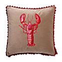 Langosta Velvet Cushion image