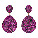 Monte Carlo Earring Ruby Cz Rosegold image