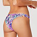 Purple Lava Cheeky Coverage Bikini Bottom image