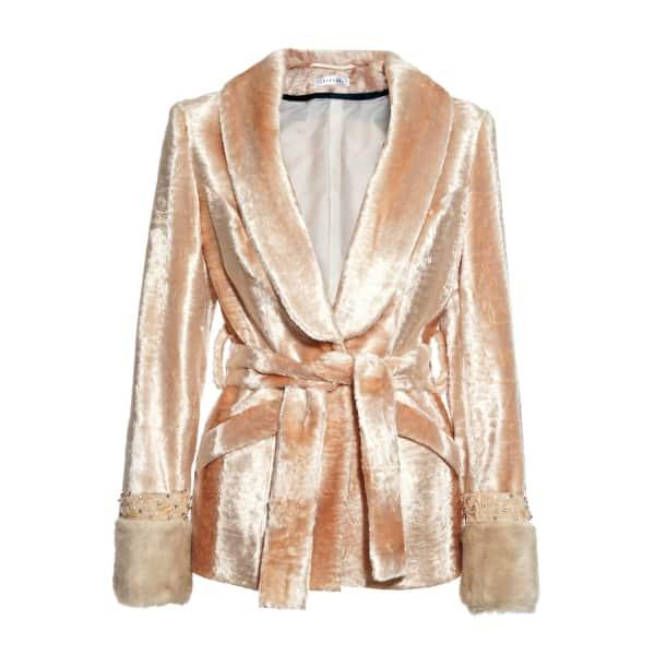 JIRI KALFAR Pink Faux Fur Jacket
