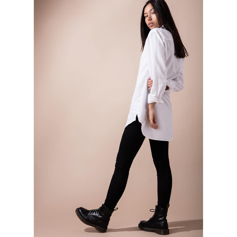 a3da0763a56 Women'S Tall Button Up White Shirt   Circle Park   Wolf & Badger